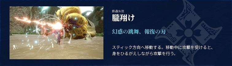 MHRise双剣朧翔(おぼろがけ)